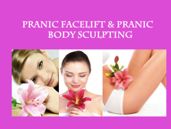 Pranic Weight Loss Body Sculpting Face Lift