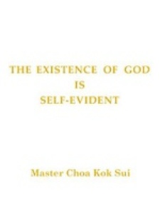 The Existence of God is Self Evident